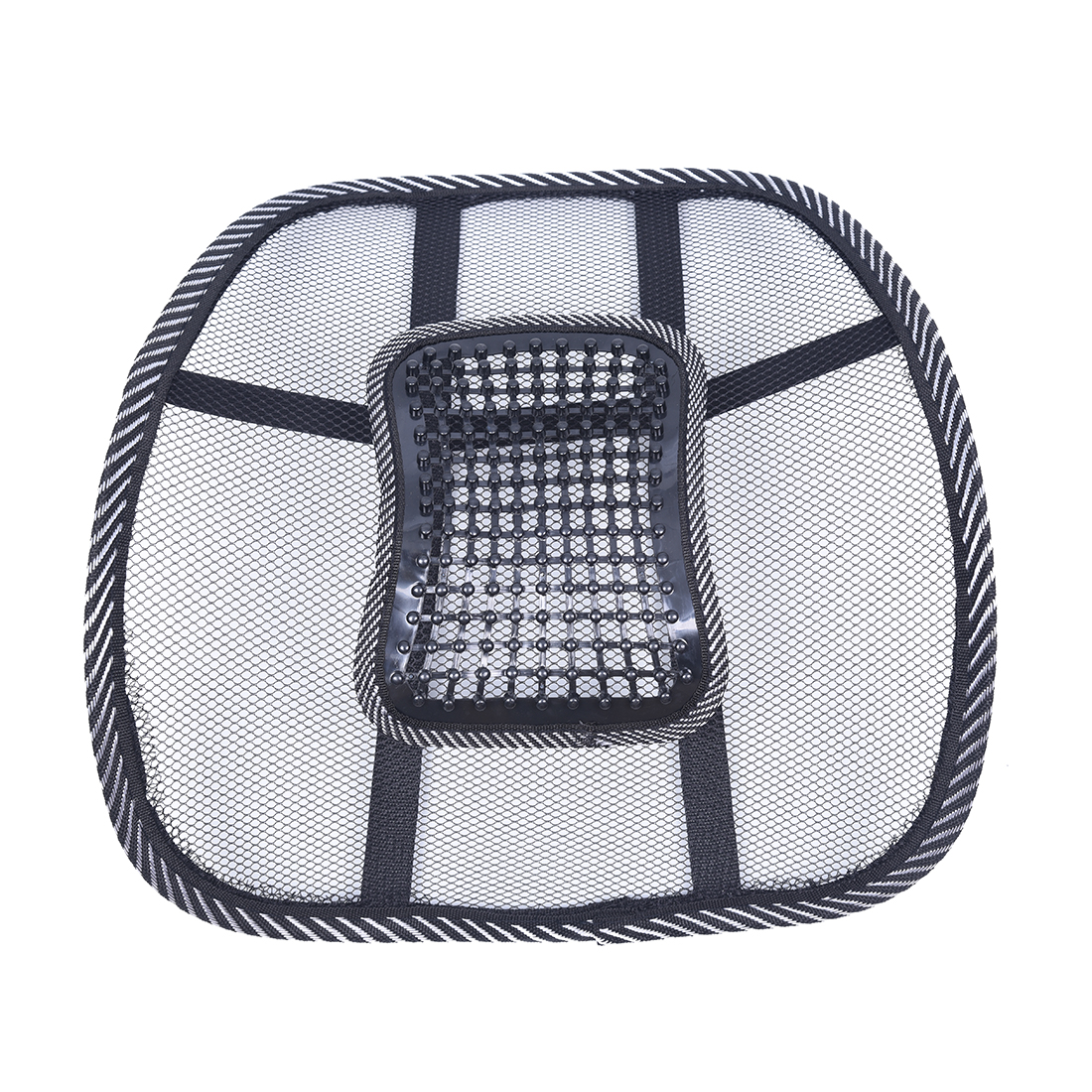 Office Chair Back Support Cushion Reviews Teak Shower Chairs Benches Car Seat Massage Lumbar Mesh