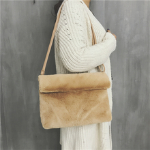 women handbag manmande fur crossbody shoulder bag for 11.11