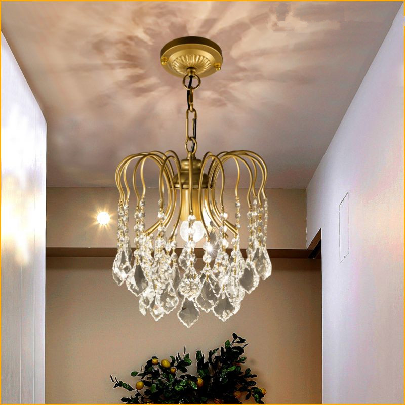 Modern crystal chandelier light fixtures Clear K9 crystal lustres de cristal chandelier lamp for living room kitchen candelabroModern crystal chandelier light fixtures Clear K9 crystal lustres de cristal chandelier lamp for living room kitchen candelabro
