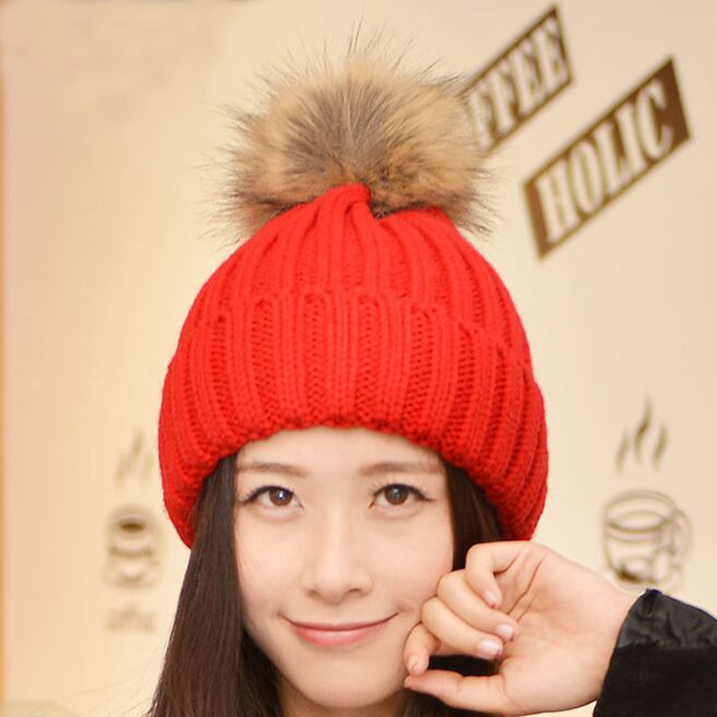1 Pcs Korean Pure Color Ball Knitted Caps Star Stlye Winter Fashion Brand Hats For Women Striped Skullies Beanies 7 Colors plug elbow right angle 3 5mm male to female audio connector 90 degree adapter gold plated free shipping