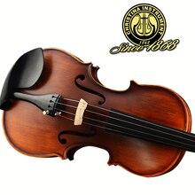 Christina италия начинающий канифоль высококачественный клен акустическая античная скрипка лук матовый