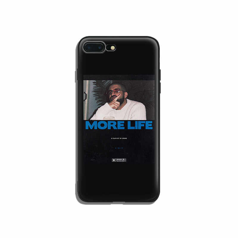 new arrival 3be2e ac2c0 Drake More Life Rap hiphop coque Soft Silicone Phone Case Cover Shell For  Apple iPhone 5 5s Se 6 6s 7 8 Plus X XR XS MAX
