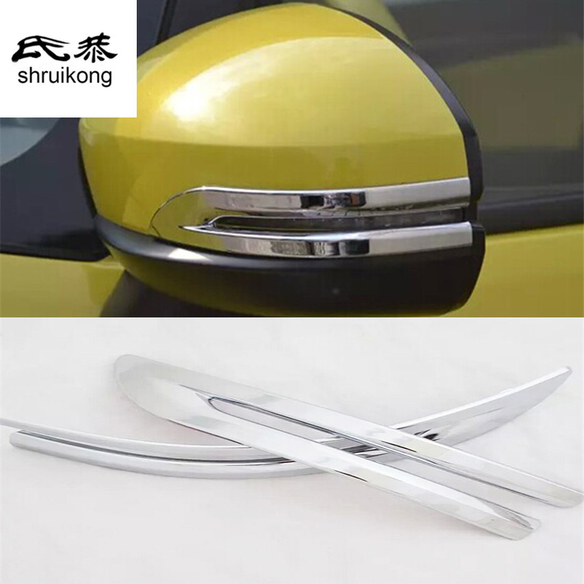 Free Shipping 2pcs For Honda Fit 3 Mk3 2014 Car Stickers