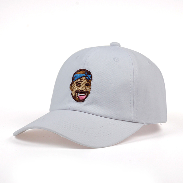 Drizzy Drake Baseball Cap Embroidery Dad Hat Popular Rapper Pure Cotton Adjustable Casual Cap Unidrake