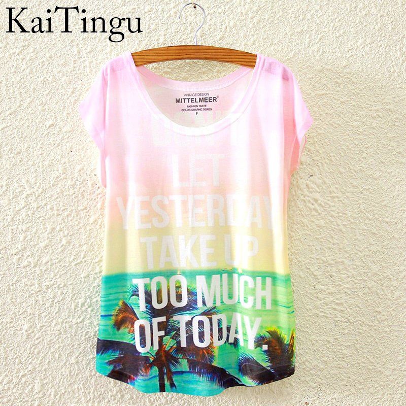 HTB1wopAKVXXXXb4XpXXq6xXFXXXT - New Fashion Short Sleeve T Shirt Women Tops Eiffel Tower Printed T-shirt