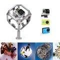 Gopro mergulho à prova d' água 720 panorama omni titular para xiaomi yi filmagens vr câmera sj5000 ação eken autocompensadores de matriz de vídeo 3d