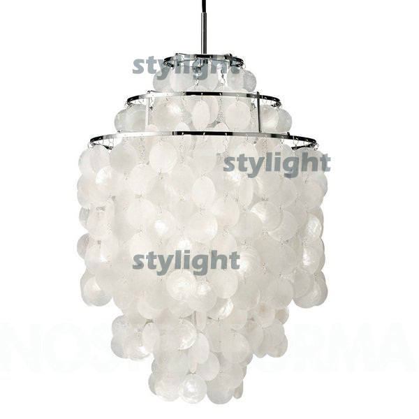 Diy shell pendant lamp diameter 38cm shell lamps fun 3 circles diy shell pendant lamp diameter 38cm shell lamps fun 3 circles seashell chandelier lights fun pendant modern chandelier in pendant lights from lights aloadofball Image collections