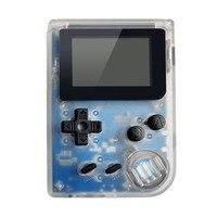Aspecto clásico batería de litio 32 bit tamaño compacto retro consola pequeña Reproductores de juegos portátiles incorporado 36 juegos