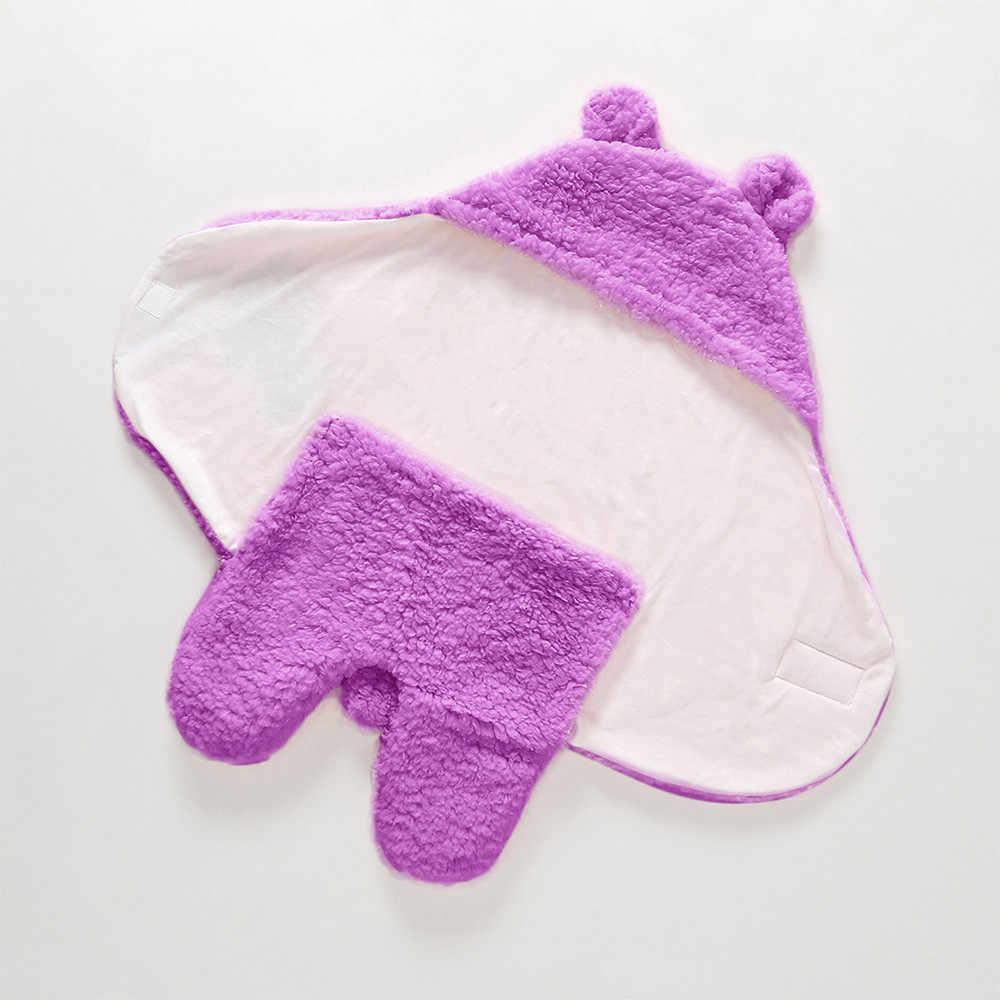יילוד תינוק חמוד כותנה קבלת לבן שינה שמיכת ילד ילדה לעטוף החתלה תינוק שמיכות יילוד bebek battaniye חיתול