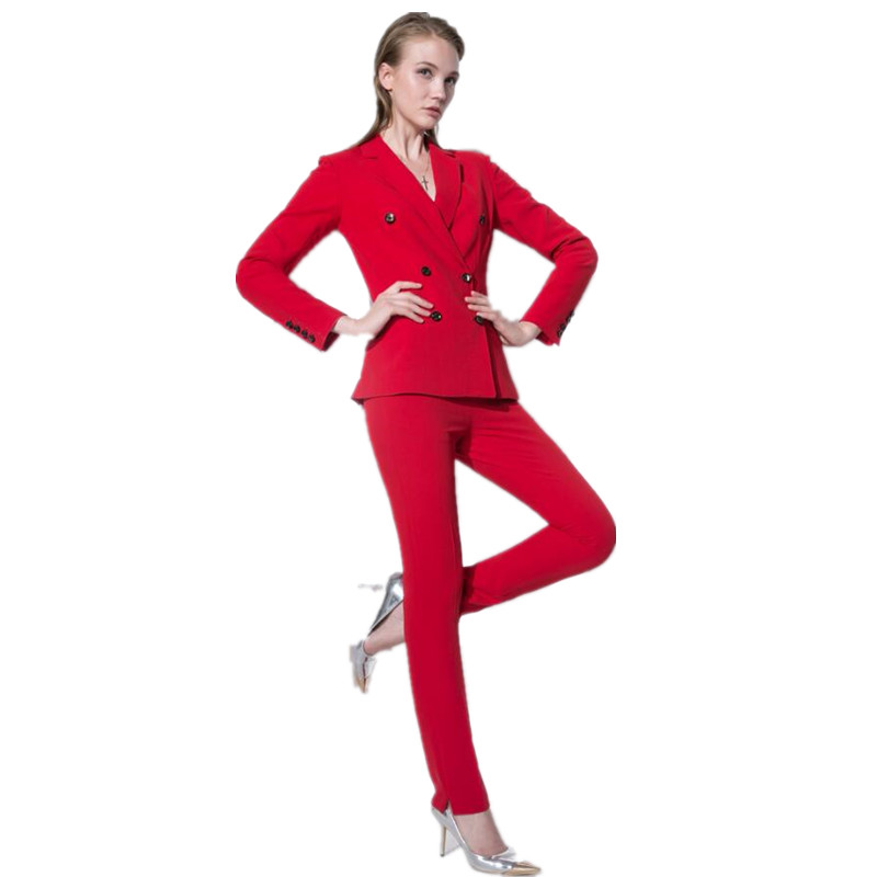 Online Get Cheap Red Business Suit Women -Aliexpress.com | Alibaba ...