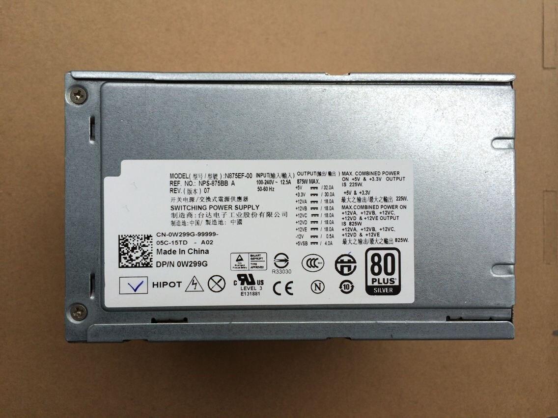 Power supply for X008G D525AF-00 U597G Precision T3500 525W H525AF-00 NPS-875BB A U597G X008G M821J