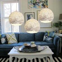 Подвесной светильник для кухни, современный светильник для спальни, алюминиевый светильник, офисный серебристый потолочный светильник, лампа в комплекте 1 шт