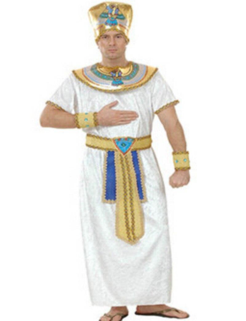 Egypt Queen Costumes Princess Royal Golden Women Men