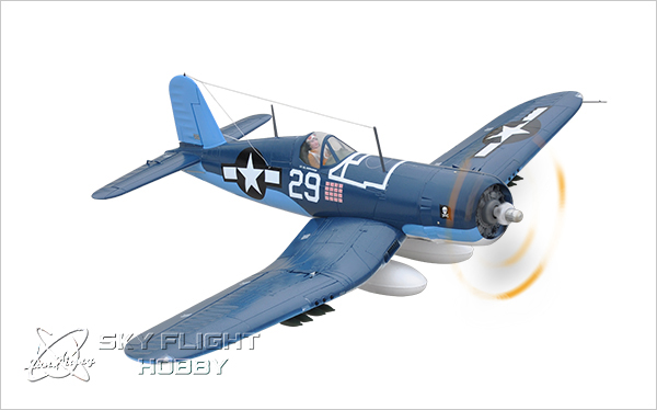 US $455 99 |Skyflight LX EPS 1 2M F4U Corsair Warbird Propeller RC RTF  Plane Model W/ Motor Servos ESC Battery-in RC Airplanes from Toys & Hobbies  on