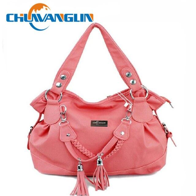 2017 New Handbags Women Bags Fashion Pleated Shoulder Bag Tassel Designers Brand Handbag