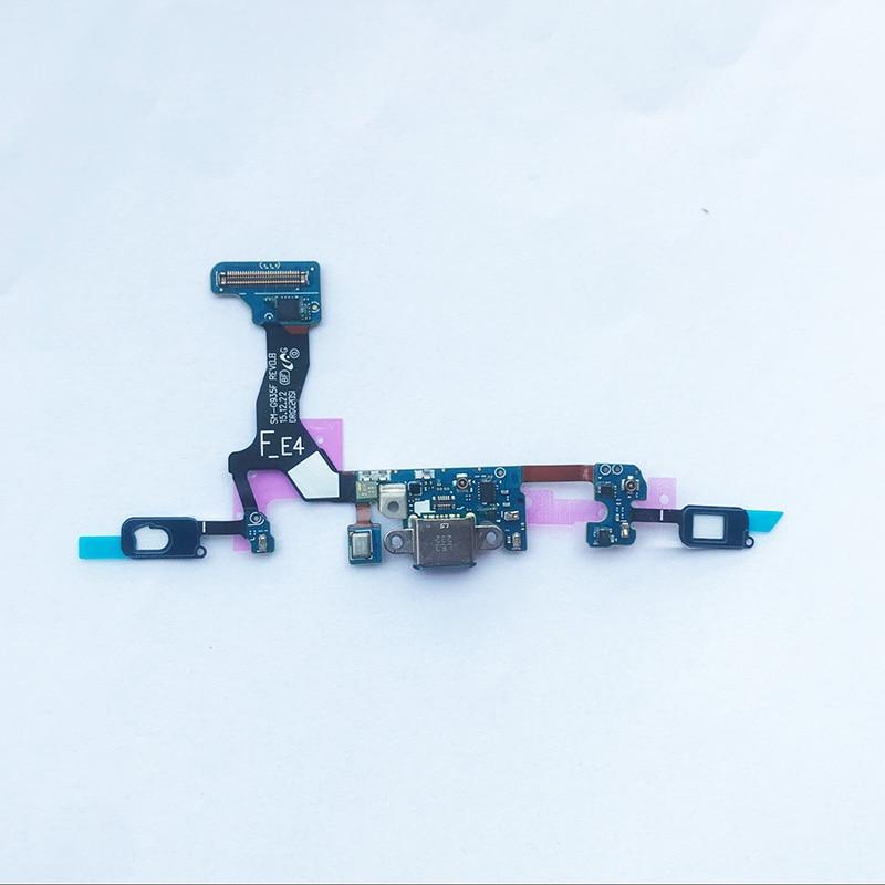 Image 3 - 5 шт. док коннектор, зарядный порт гибкий кабель для samsung Galaxy S6 edge S7 S7 edge S8 plus G955F S9 plus G965F гибкий кабель лента-in Шлейфы для мобильных телефонов from Мобильные телефоны и телекоммуникации on