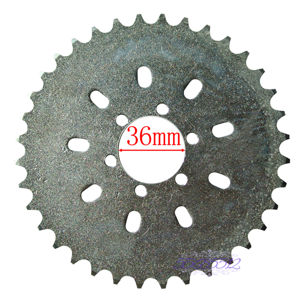 36t Sprocket Fits 49cc 50cc 66cc 80cc Motorized Bike Engine Part In Sprockets From Automobiles Motorcycles On Aliexpress Alibaba Group