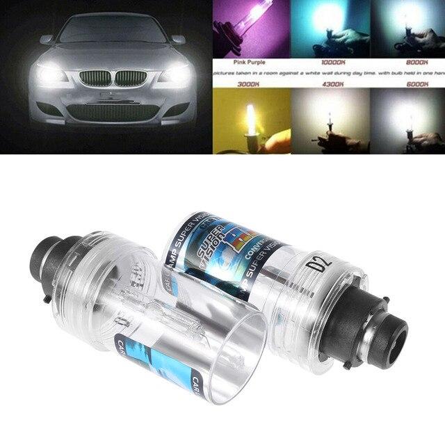 2PC D2S 35W Scheinwerfer Hid lampen Auto Lichtquelle Ersatz Auto Zubehör 4300/6000/8000/ 10000/12000K