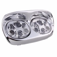 New Arrival 5.75 Daymaker Road Glide LED Headlamp , Harley led headlights High Low Bulbs Motorcycle led Headlights