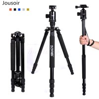 Zomei Z818 Portable Professional Aluminum Travel Camera Tripod with release plate monopod flexible tripod legs For shooting CD50