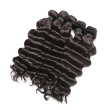 Peruvian Hair Weave Bundles 10Pcs/lot Loose Deep 100% Human Hair Weaving Natural Color Remy Hair
