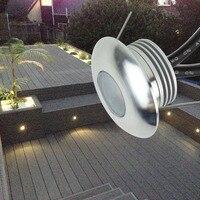 12pcs Lot 12V 1W Led Floor Decking Light IP67 Waterproof Outdoor Landscape Lighting For Garden Yard