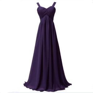 Image 5 - Qnzl1089j # cintas de espaguete vinho vermelho chiffon rendas até vestidos longos da dama de honra novo verão 2019 anfitrião noiva casada vestido de festa de formatura