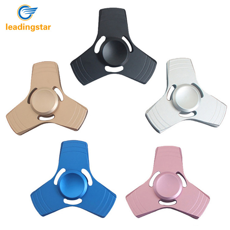 LeadingStar 20pcs Hand Spinner Fidget Spinner Stress Anxiety Reducer Aluminium Tri Spinning Finger for Kid/Adult for Autism zk30 multi color gyro led light finger spinner fidget plastic abs hand for autism adhd anxiety stress relief focus toys gift