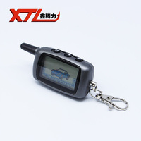 Free Shipping Car Keychain Starline A6 Car Remote For A6 Lcd Remote Two Way Car Alarm