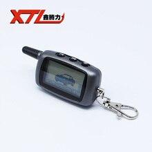 Envío Libre del coche llavero remoto para A6 remoto lcd starline A6 coche sistema de alarma del coche de dos vías/transmisor FM
