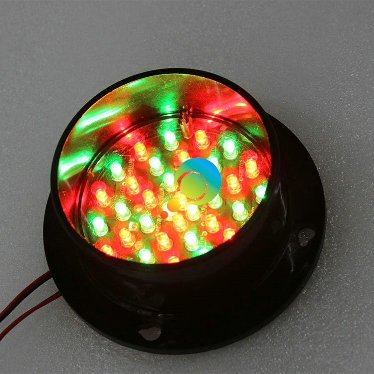 DC24V  Customized Mould Mix Red And Green 100mm Traffic Signal Light Lamp