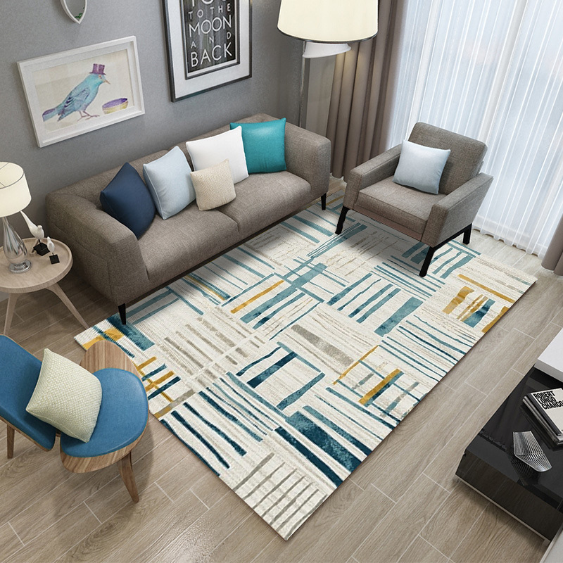 Nordic Living Room Carpet Customizable Bedroom Carpet Sofa Coffee Table Area Rug Study Room Floor Mat Modern Kids Tatami Rugs in Carpet from Home Garden