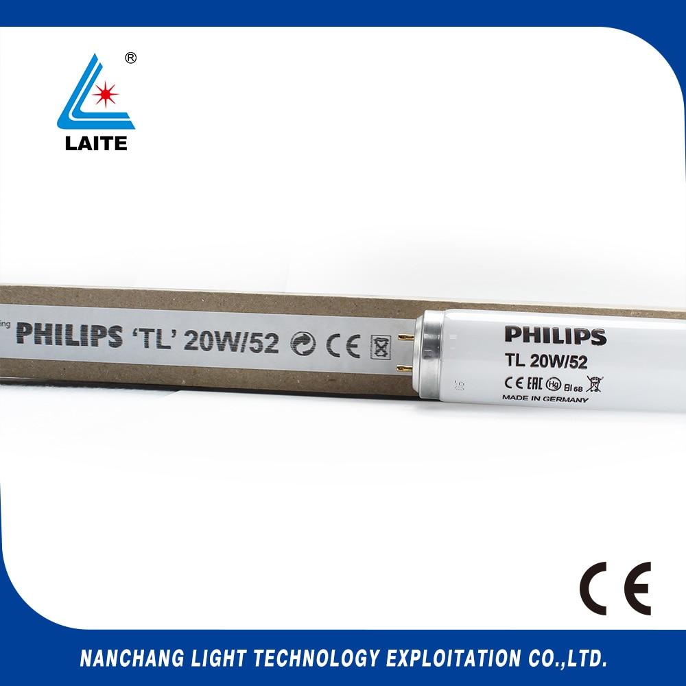 originální GE TL 20W / 52 UVB úzkopásmová lampa ultrafialová fototerapie 20w UVB UV trubice doprava zdarma-5ks