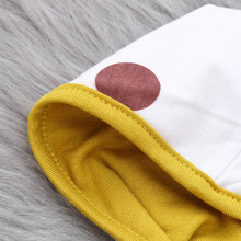 Newborn's Hooded on Zipper Pajamas