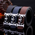 New 2016 men's fashion boutique business casual mc belts / High quality leather Male belts / Men's belts Smooth buckle luxury
