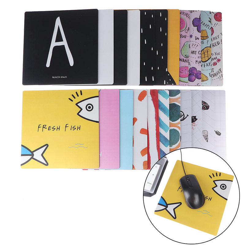 Cartoon Pvc Mousepad Home Office Desk Mat Surface Waterproof Anti-slip Table Mouse Pad For Working Gaming Studying