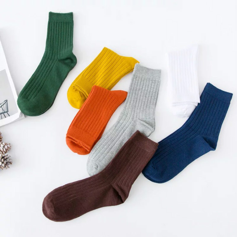 20 pieces/ Pack Men Women 100% Cotton Socks Crew Comfortable Socks funny sentence kinitted crew socks