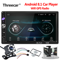 Universal 2 din Car radio Android MP5 Player Touch Screen GPS Navigation Autoradio Android Wifi Car Multimedia Player Mirrorlink