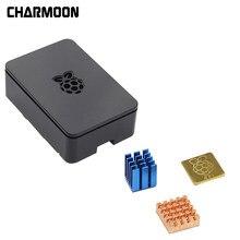 Dla Raspberry Pi3 Model B + etui z ABS skrzynka osłaniająca z radiator aluminiowy dla Raspberry Pi 3 Model B + Plus,PI 3 / 2