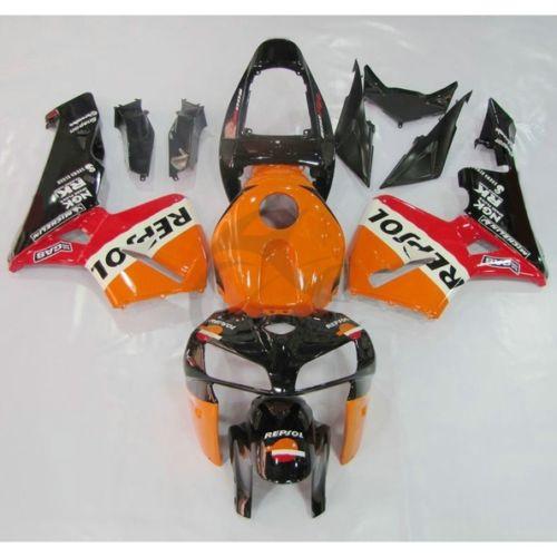 Kit de carrosserie de carénage ABS Injection Repsol pour Honda CBR600RR F5 2005 2006 26B