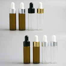 Free shipping, 50sets/LOT 10ml Empty Glass Essential Oil Dropper Bottle,10ml Vials, 15ml is available