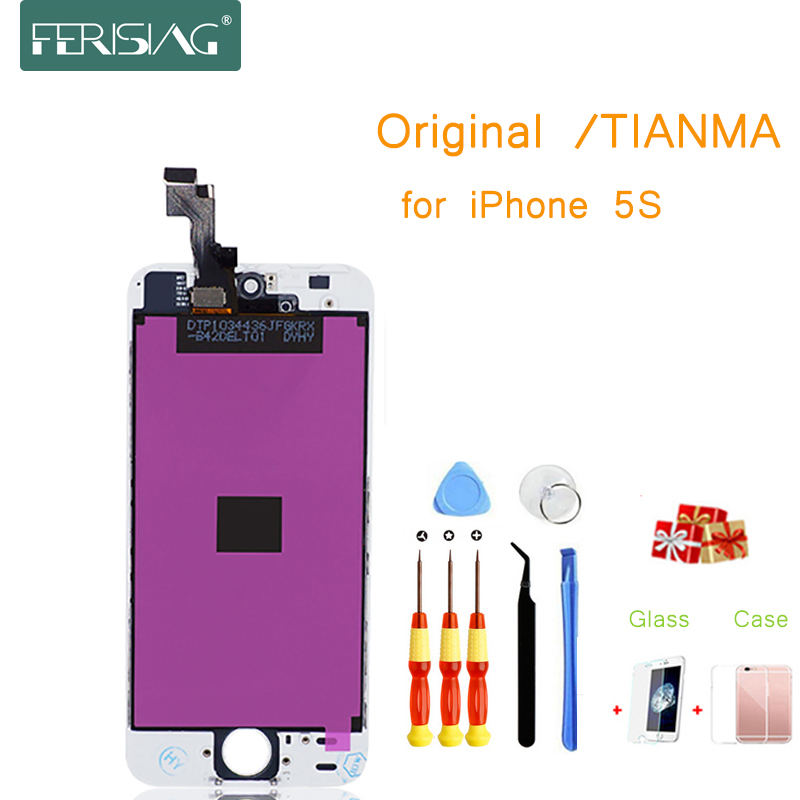 5S OEM/TIANMA AAAA + Factory LCD Screen For iphone 5S Screen Display Part Glass Touch Panel Digitizer Assembly Complete 5S5S OEM/TIANMA AAAA + Factory LCD Screen For iphone 5S Screen Display Part Glass Touch Panel Digitizer Assembly Complete 5S
