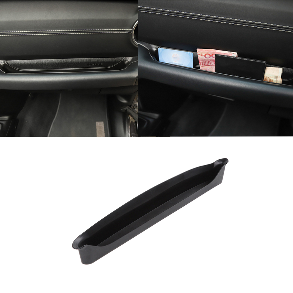 Co Pilot Position Armrest Storage Box for Jeep Wrangler JL 18 Car Interior Accessories Black 1pcs