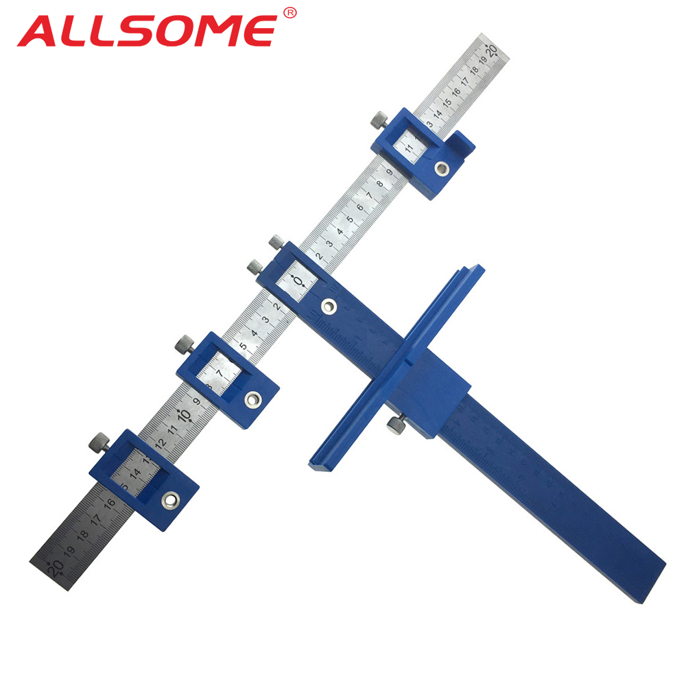 ALLSOME 5mm Drill Guide Hülse Schrank Hardware Jig Schublade Pull Jig Holz Bohren Dowelling Loch Sah Master System HT2341