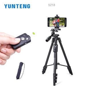 Image 3 - Yunteng 5218 카메라 삼각대 셀프 세로 모노 포드 블루투스 원격 제어 Selfie 전화 클립