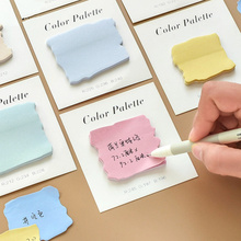 Buy 8pcs Color pallete memo pad Post sticky note marker it stickers for agenda planner diary Stationery Office School supplies F092 directly from merchant!