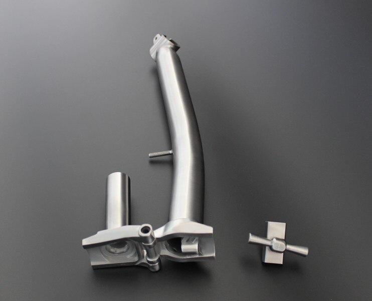Tige en titane pour Brompton pour barre de 25.4mmTige en titane pour Brompton pour barre de 25.4mm