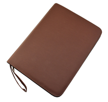 Quality Fountain Pen / Rollerball Pen Bag Pencil Case Available for 48 Pens - Coffee Leather Pen Holder / Pouch