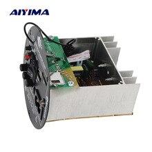 AIYIMA 30 Вт Bluetooth Плата усилителя 12 В 220 в моно усилитель сабвуфера поддержка TF USB FM для 5 10 дюймовый басовый динамик DIY