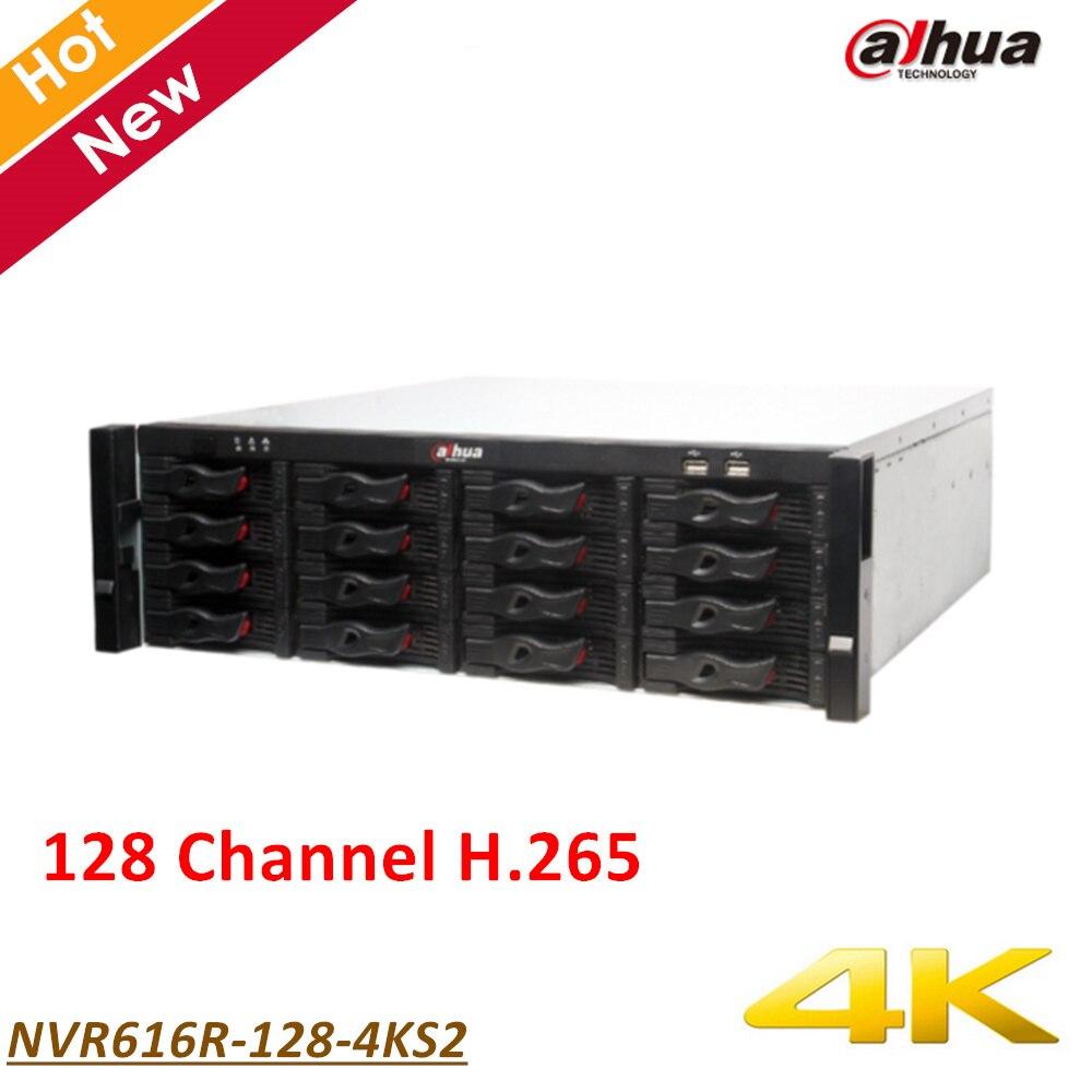 dahua p2p 4k nvr 4ch 8ch 16ch video recorder nvr4104hs 4ks2 nvr4108hs 4ks2 nvr4116hs 4ks2 h 265 8mp resolution Dahua NVR616R-128-4KS2 128 Channel Ultra 4K H.265 Network Video Recorder NVR